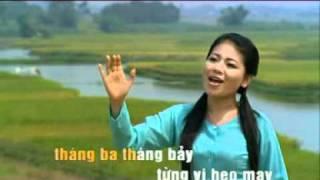 Khúc hát sông quê - karaoke