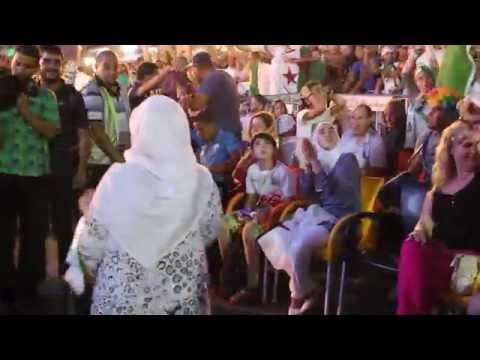 Joie des supporters, Algérie-Russie. Grande Poste.