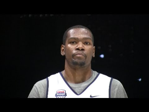 Kevin Durant USA Highlights - 2012 Men's Olympic Basketball Team - 2012 London