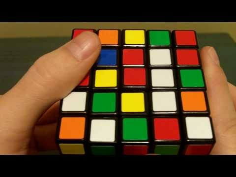 How To Solve a 5x5x5 Rubik's Cube (Part 1: Centers)