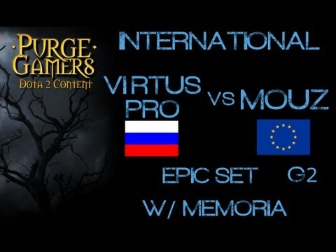 Virtus.Pro vs Mouz g2 International Quali w/ Memoria