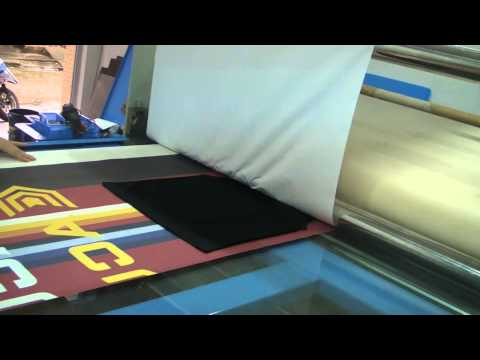 Sublimation Rotary Heat Press printing sublimation apparel by GOGOPRESS GP series 2013-08012