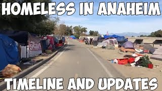 Homeless People In Anaheim: Timeline and Updates February 2018