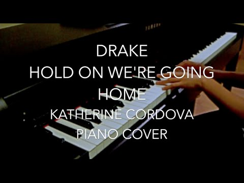 Drake - Hold On We're Going Home (HQ piano cover)