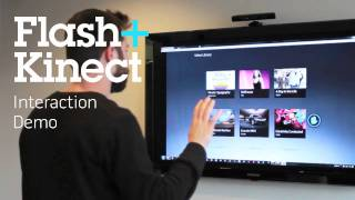 Kinect Hacks - Flash, HTML5, Unity and Silverlight Integration | 720p