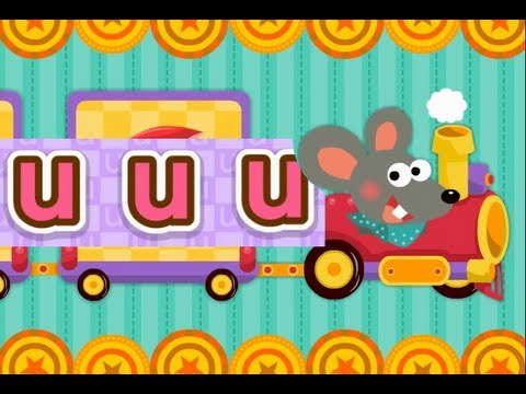 ABC Phonics Chant Song 3 - Level I (U~Z) | nursery rhymes & children songs | muffin songs