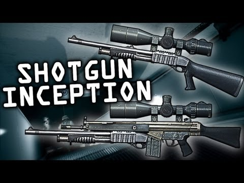 Battlefield 3 - Shotgun Inception &quot;Sniper Shotgun Attachment&quot;