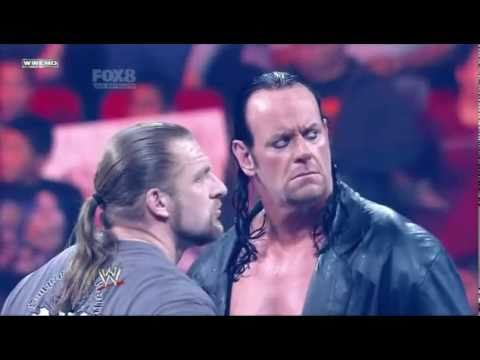 WWE Wrestlemania 27 The Undertaker vs. Triple H Promo (HQ)