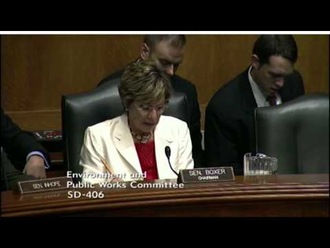 2012 Senate Hearing's Climate Showdown