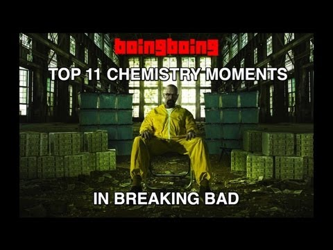 Breaking Bad: Top 11 Chemistry Moments, with Xeni and Miles (Boing Boing Video)