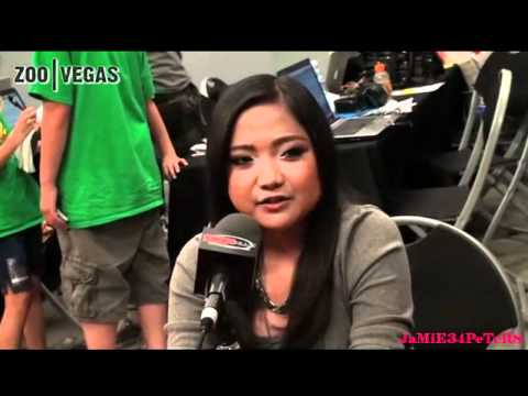Charice - Interview Backstage at 98.5KLUC's End Of Summer Block Party 2011 - 08/23/11
