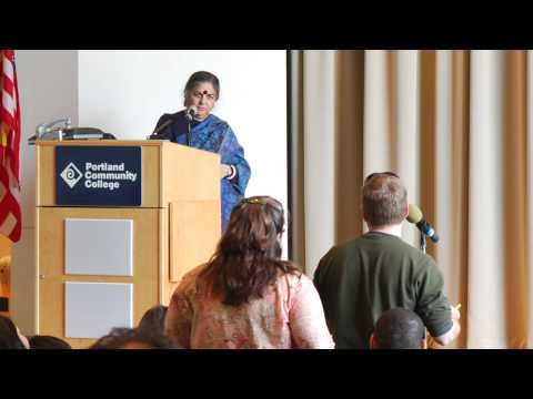 Vandana Shiva:  Earth Democracy at PCC