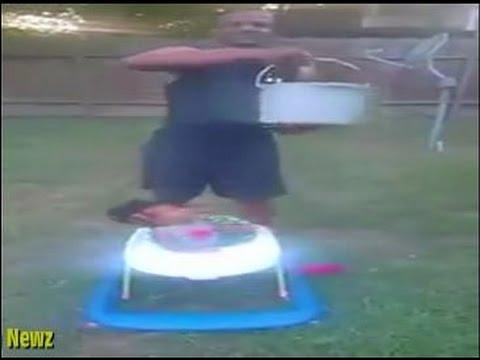 بالفيديو.. رضيعة امريكية عمرها 10 شهور تشارك في تحدي الثلج