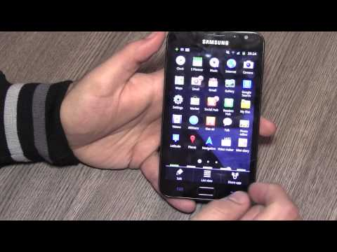 Samsung Galaxy Note Tablet Phone Hybrid  in-Depth Review Part 1