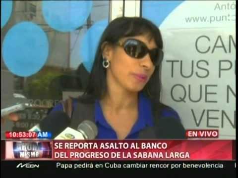 Desconocidos armados asaltan Banco del Progreso…