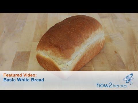 Homemade Basic White Bread