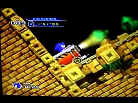 Sonic the Hedgehog 4 (leaked footage):  Lost Labrynth Zone Act 2