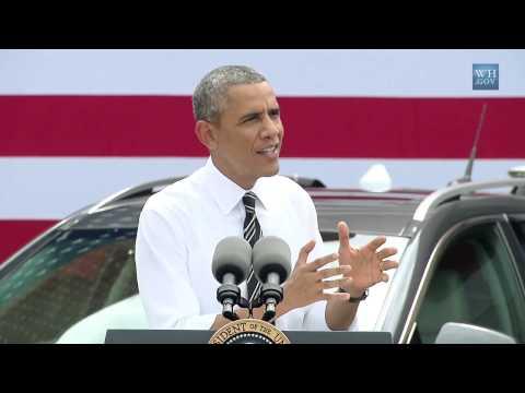 The President Speaks on the (Economy)   7/15/14