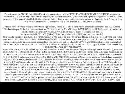 La cabala nella moltiplicazione dei pani e pesci (Vang. Luca).wmv