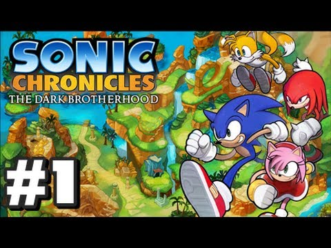 Sonic Chronicles: The Dark Brotherhood - Part 1