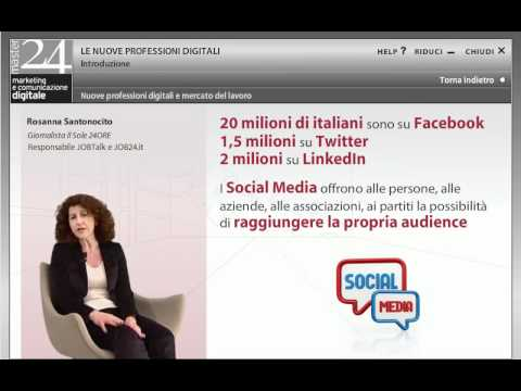 Nuove professioni digitali e mercato del lavoro - Rossana Santonocito