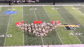 FHS Highstepper's Deliver Unique Half-time Show Performance