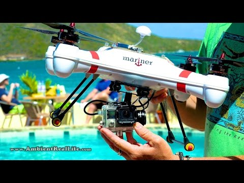 WORLD'S FIRST!  'Mariner' Drone with WATERPROOF GIMBAL, FPV & filming in 4K from BVI, CARIBBEAN! - default