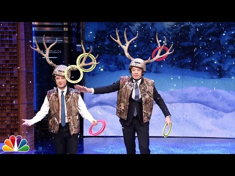 Antler Ring Toss at The Tonight Show Starring Jimmy Fallon