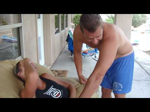 Funniest Bee Sting Ever!!!