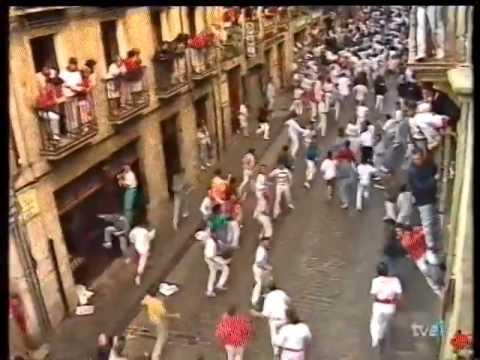 Encierro San Fermín   12 de julio de 1993 480p