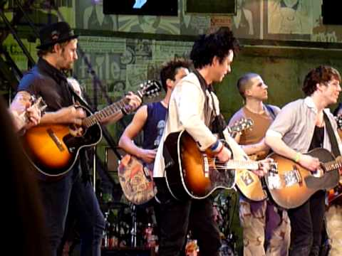 Billie Joe Armstrong and Mike Dirnt American Idiot (Broadway)