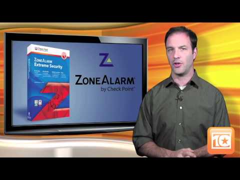 Top Ten Reviews gives ZoneAlarm Extreme 2012 a Gold Award