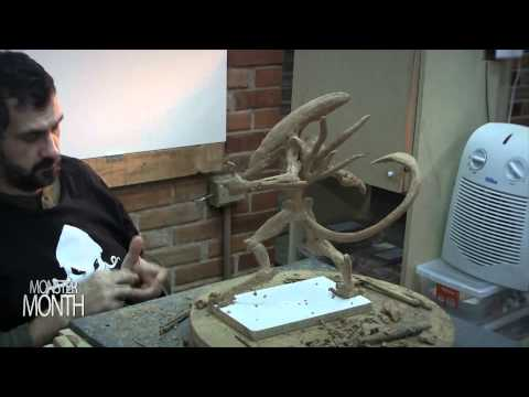 HOW TO SCULPT A ALIEN - MONSTER MONTH DAY 30