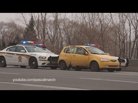 Poursuite haute vitesse Longueuil - High speed police chase