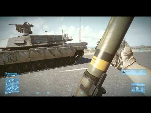 Battlefield 3: How to Quickly Destroy a Tank with Rockets - default