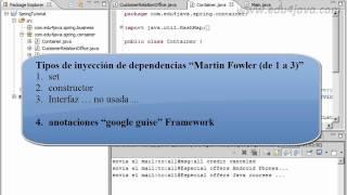 Tutorial 2 Spring Framework en español