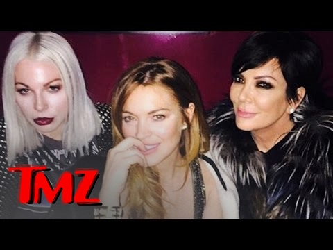 Lindsay Lohan Is Hanging Out With… Kris Jenner?!