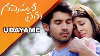 Udayame Na Asha Song Trailer From Guppedantha Prema Movie