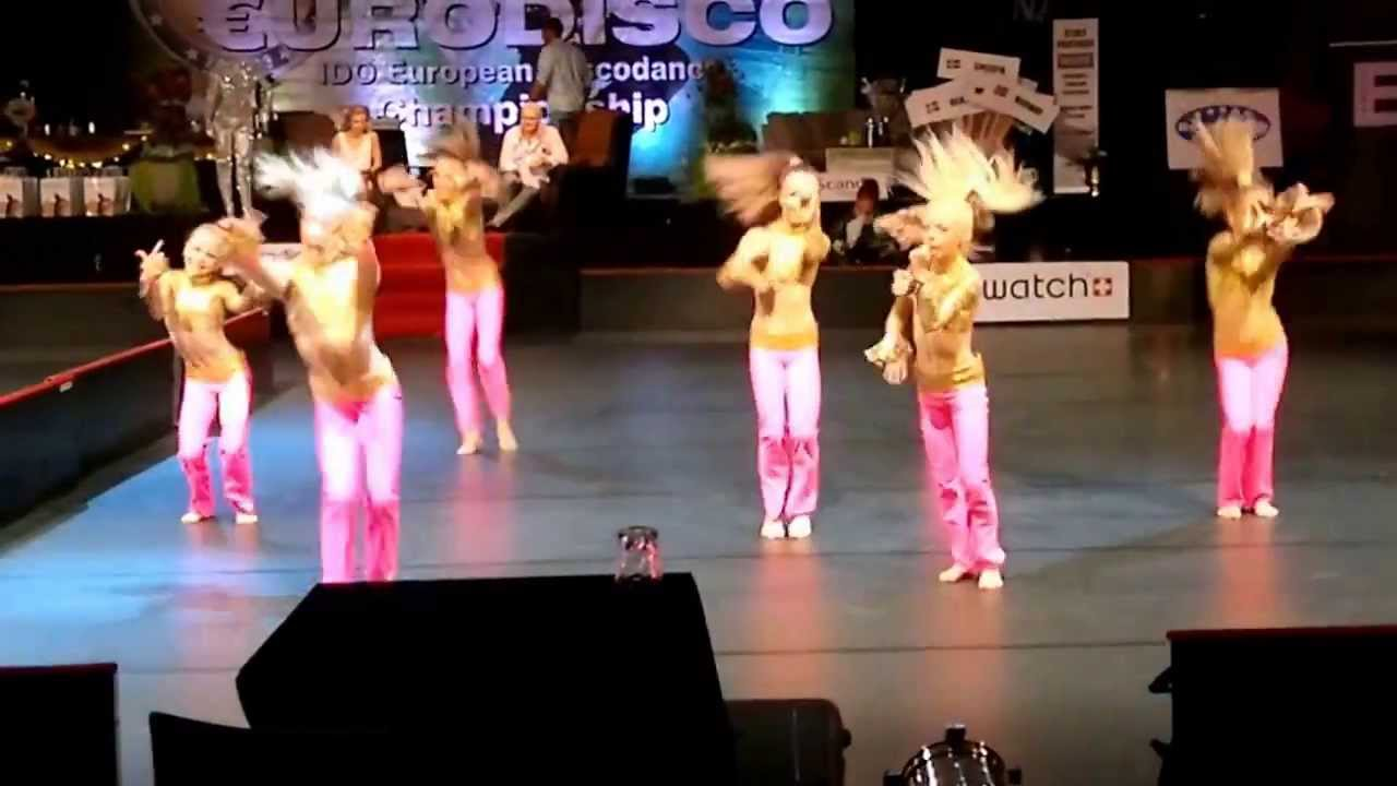 European Championships 2013, Disco Dance, small group, children