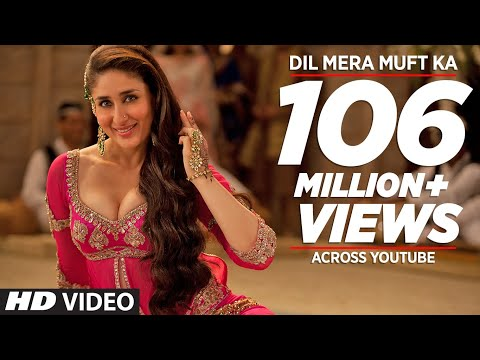&quot;Dil Mera Muft Ka&quot; Full Song | Agent Vinod | Kareena Kapoor