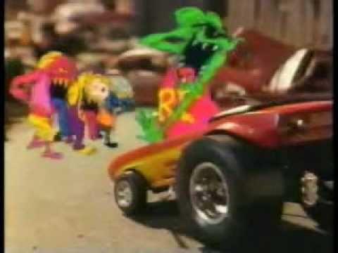 Teenage Mutant Ninja Turtles Commercial Breaks & Bumpers - 1980s