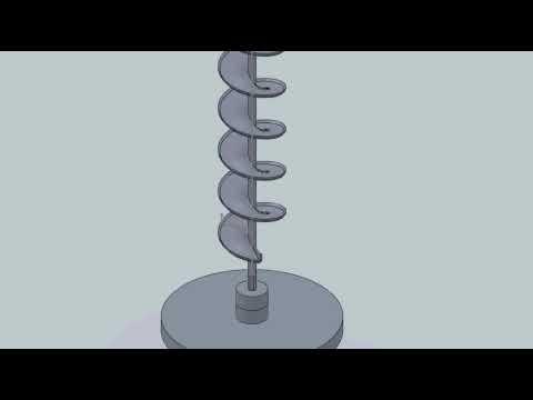Worm gear   tornillo sin fin  faja helicoidal vertical