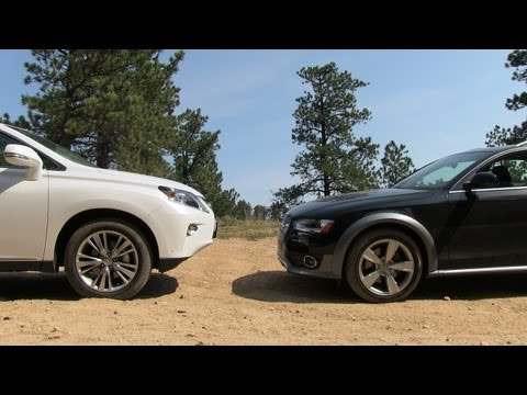 2013 Audi Allroad vs Lexus RX350 Off-Road Mashup Drive & Review