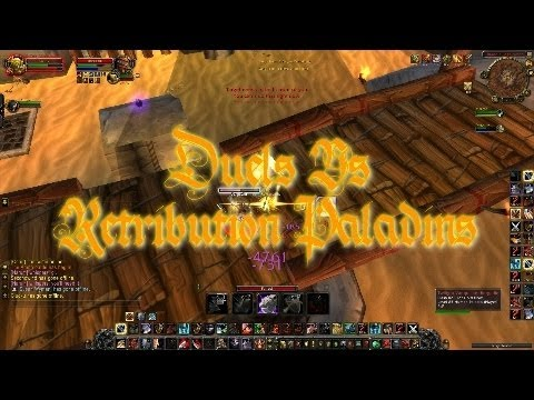 World of Warcraft Swifty Duels Vs Ret Paladins (WoW Gameplay/Commentary)