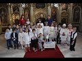 """Spectacol oferit de preșcolarii Grădiniței """"Sfânta Filofteia"""" din Caransebeș"""