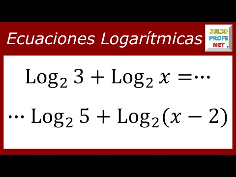 Ecuación con logaritmos