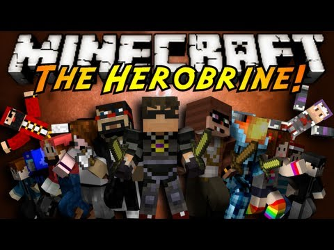 Minecraft Mini-Game : THE HEROBRINE! (ft. Youtubers!)