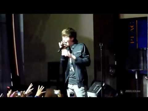 Greyson Chance - Unfriend You (Jakarta Showcase, 23 November 2011)