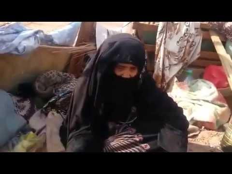 فيديو: شاهد مُسنّة تسكن العَراء وتُناشد خادم الحرمين بإعتاق رقبة ابنها