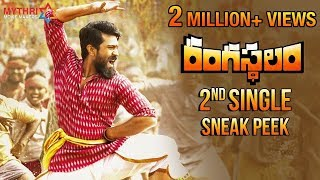 Rangasthalam 2nd Single Sneak Peek | Ranga Ranga Rangasthalana